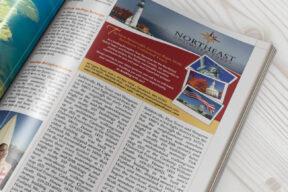Magazine Advertisement - Half Page