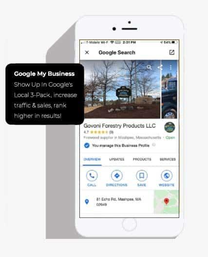 benefits of Google my business profile iamge
