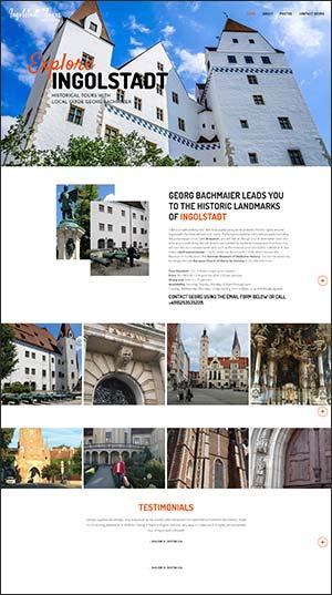 Tours-website-design-Ingolstadt-Tours