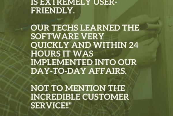 locksmith software testimonial