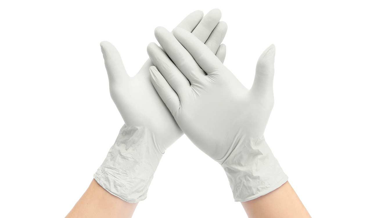 guantes de látex mayoreo