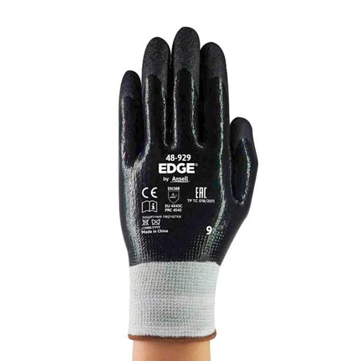 Guante Edge Polietileno alta densidad fibra de vidrio y recubrimiento de Nitrilo