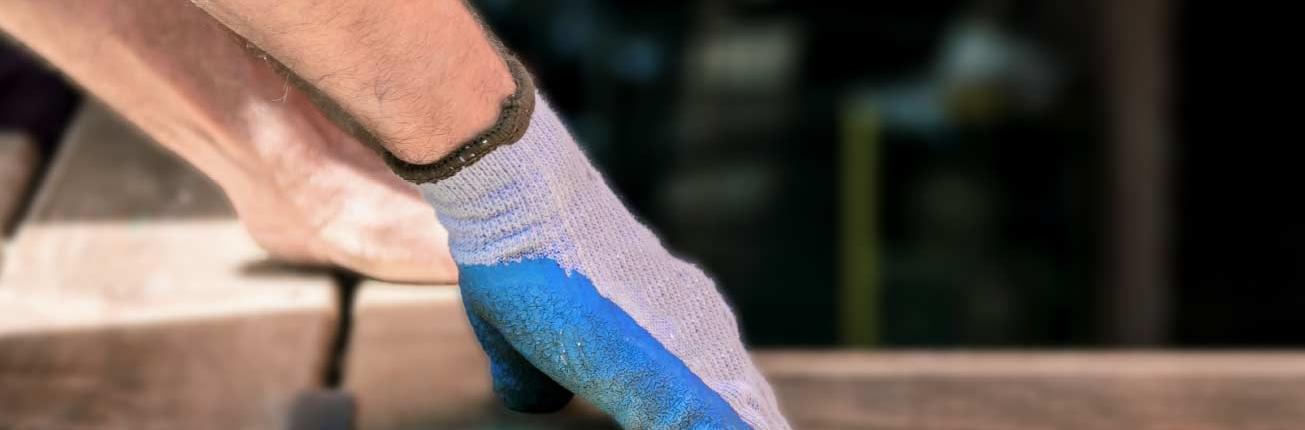 guantes de algodon