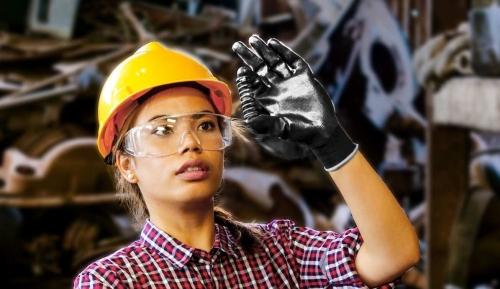 guantes de nylon
