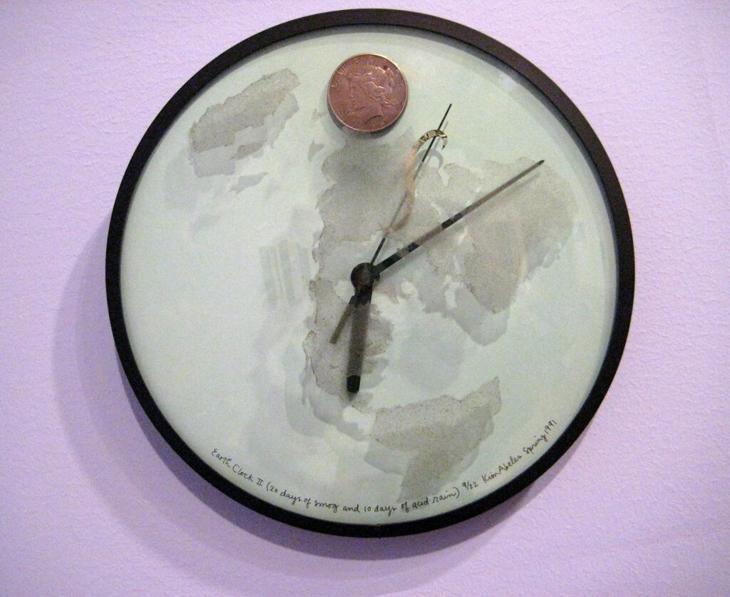 Earth Clock II (20 days of smog and 10 days of acid rain)
