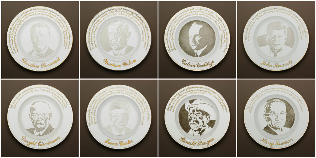 Presidential Commemorative Smog Plates