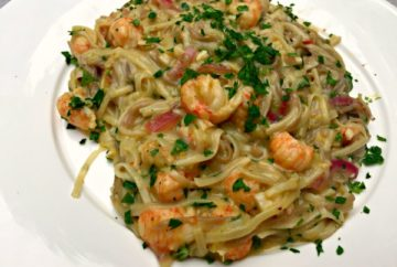Buckwheat pasta with Langoustine