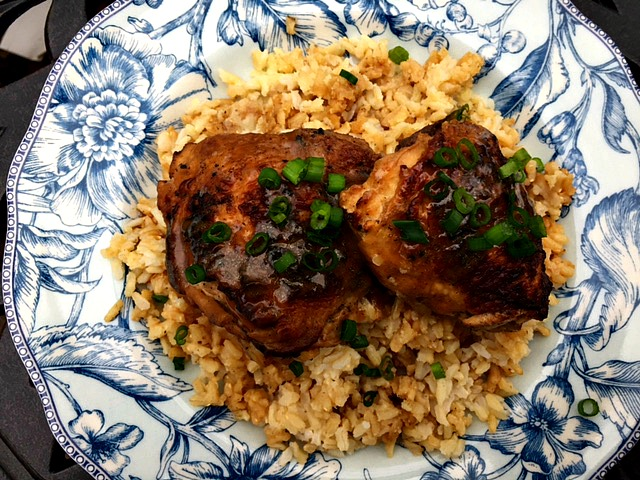 chicken adobo with coconut aminos