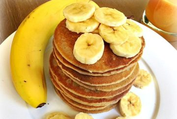 blender banana oat pancake