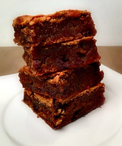 You've got to try these gooey Fudgy Paleo Protein Blondies!