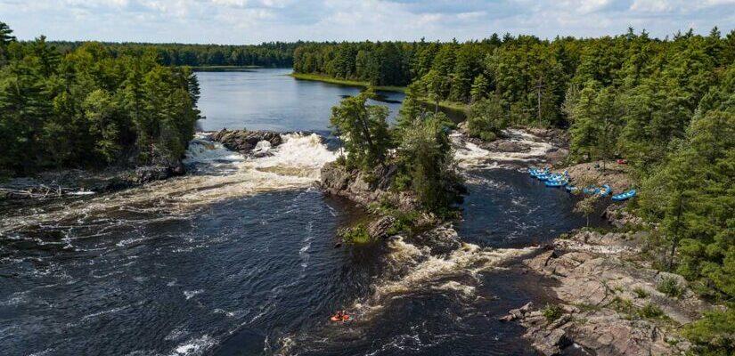 Garvins Chute on the Ottawa River