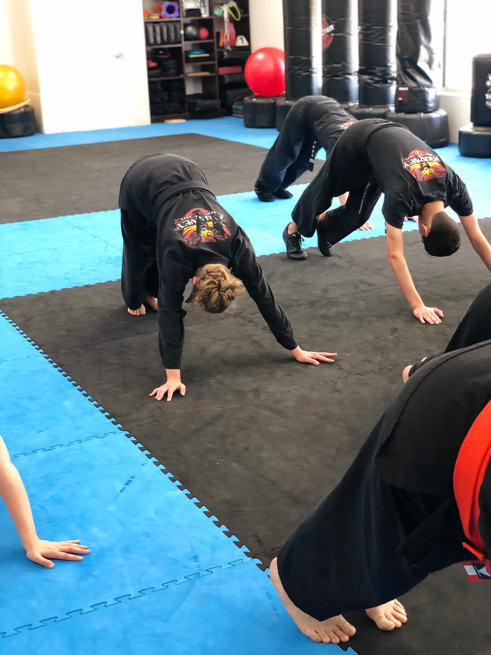 Journey Kempo Teen & Adults stretching