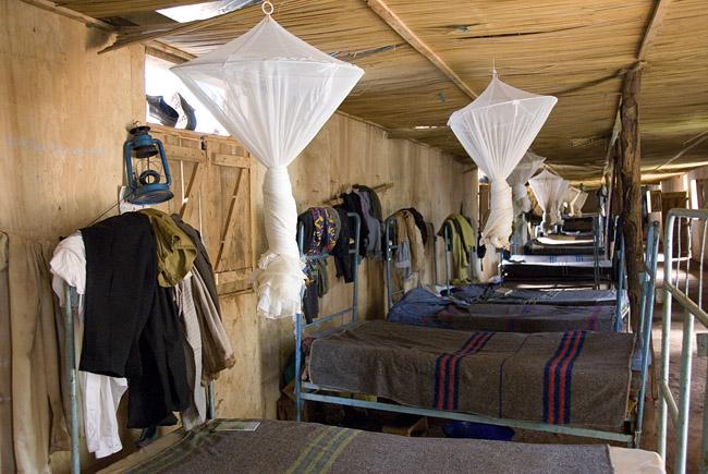Ex-Combatants Rehabilation Center bunk house - 10-09-07
