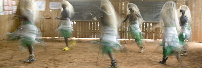 Ex-Combatants Rehabilitation Center dancers - 10-09-07