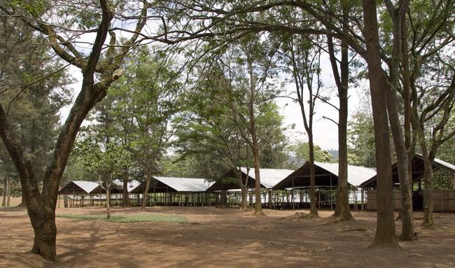 Ex-Combatants Rehibilation Center grounds - 10-09-07