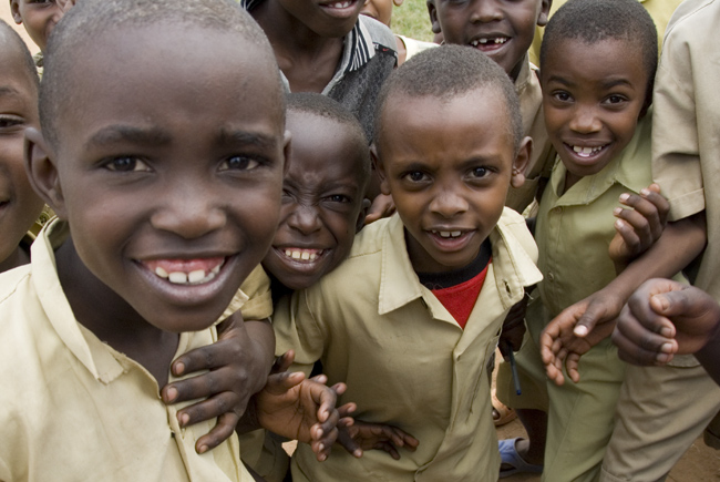 A Day in the Life of Rwandan Children: October 1st, 2007