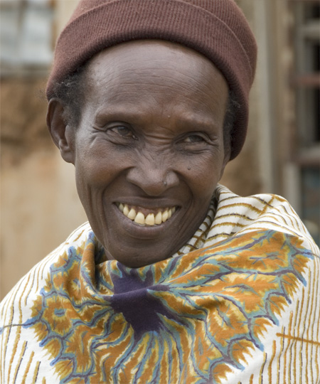 Woman smiling. 10-01-07