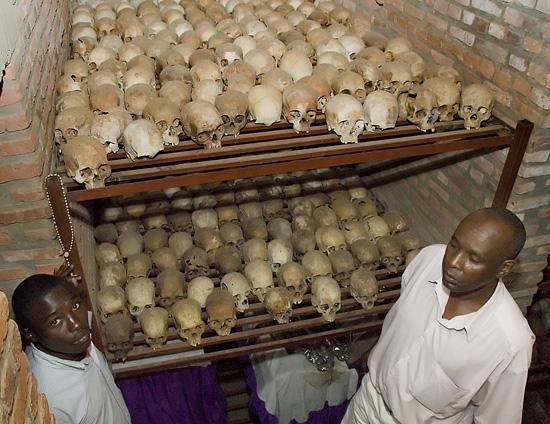 Nyamata Church - Mass Grave_01,  Rwanda.  October 2007.