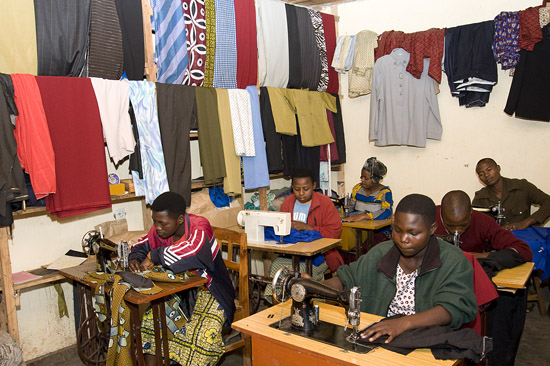 Youth sewing cooperative