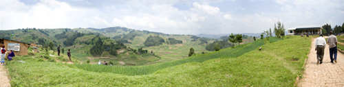View from Butaro Hospital, Burera District, Rwanda