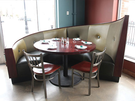New England Seating Restaurant Booths