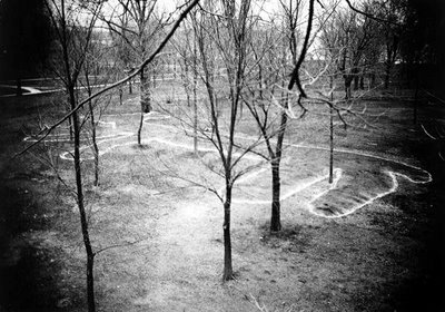 Four-footed Mound at Mendota State Hospital for the Insane WHS 1919 Fox 2