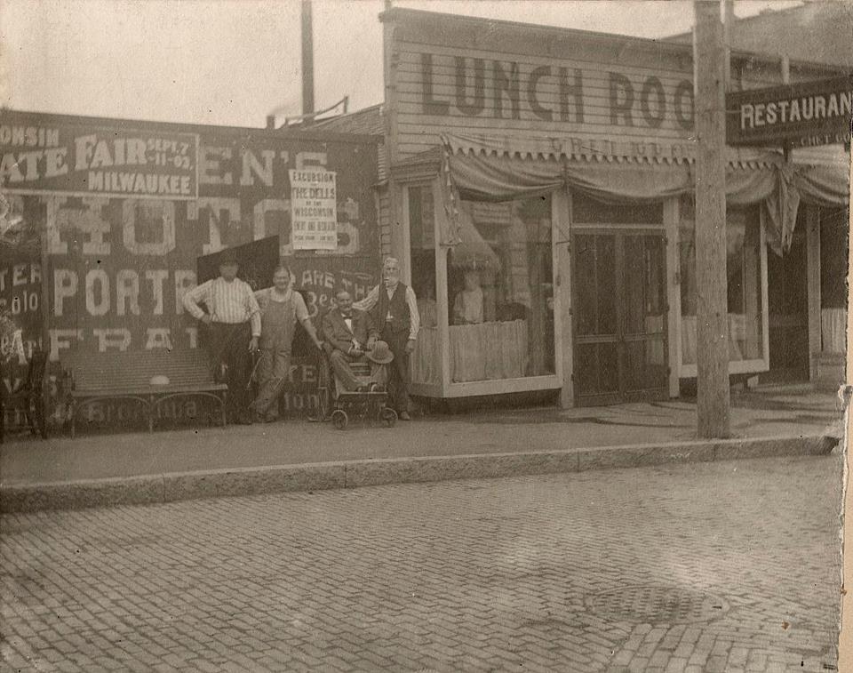 1903 lunchroom
