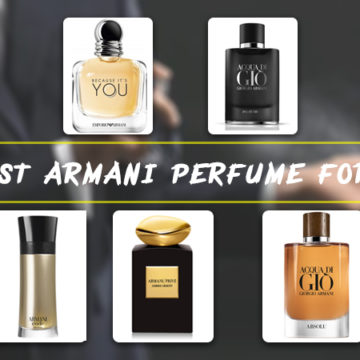 5 Best Armani Perfume for Men