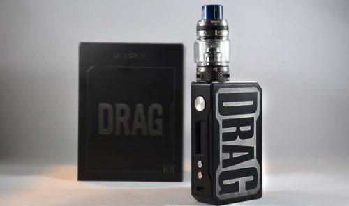 VooPoo Drag Kit - Matte Black Color at VapeLoft MD
