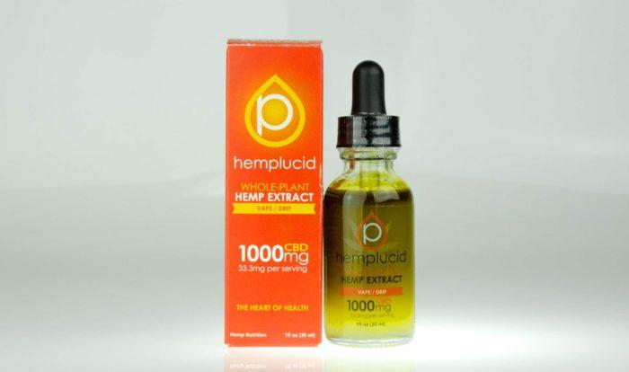Hemplucid Tincture Vape 1000MG