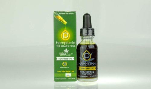 Hemplucid Tincture Hemp Seed Oil