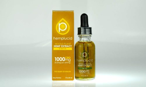 Hemplucid 1000MG CBD Tincture MCT
