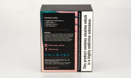 Famovape Magma 200W Box Mod