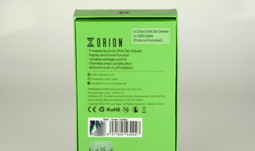 Lost Vape Orion DNA Pod System