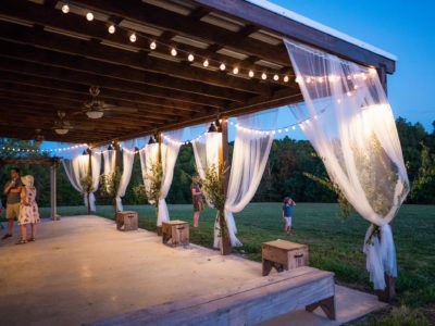 Our wedding barn features charming features that brides love