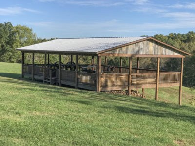 Pavilion for event rental near Columbia Tennessee