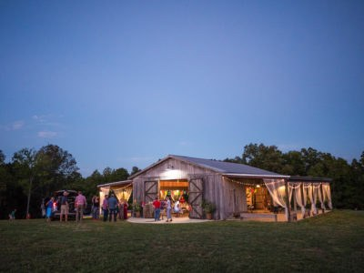 Quinceanera celebration at barn venue in Columbia Tennessee