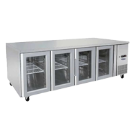 Under Bench Commercial Fridge