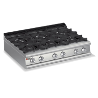 Commercial Stove cooktop