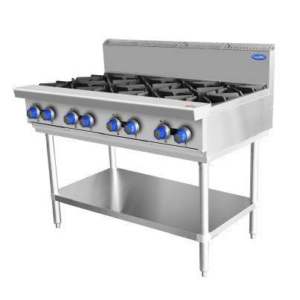 Stainless heavy duty Stove