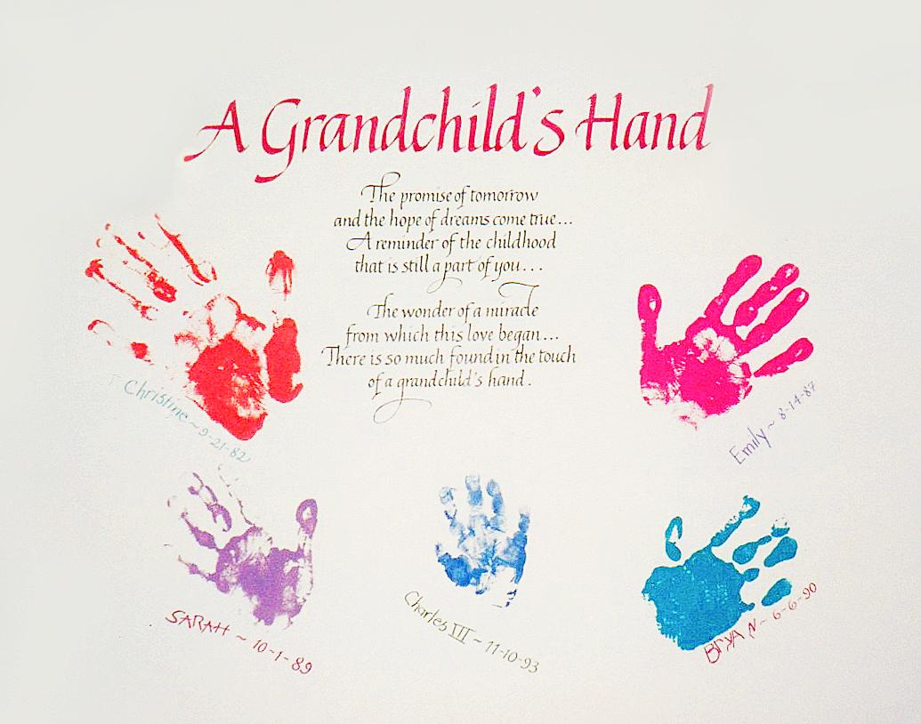 A Grandchild's Hand