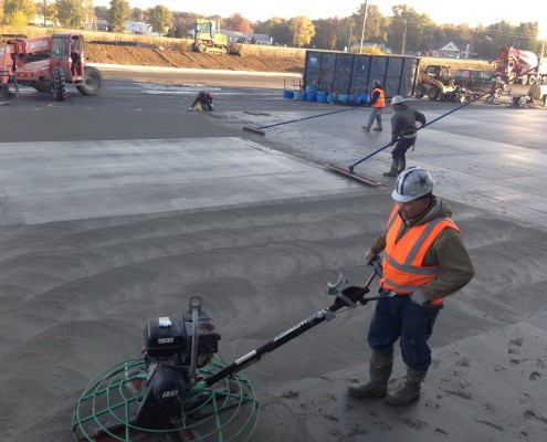 subaru warehouse concrete construction indiana 4