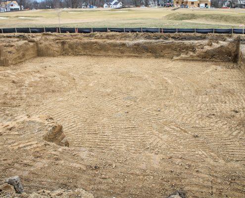 custom home excavation
