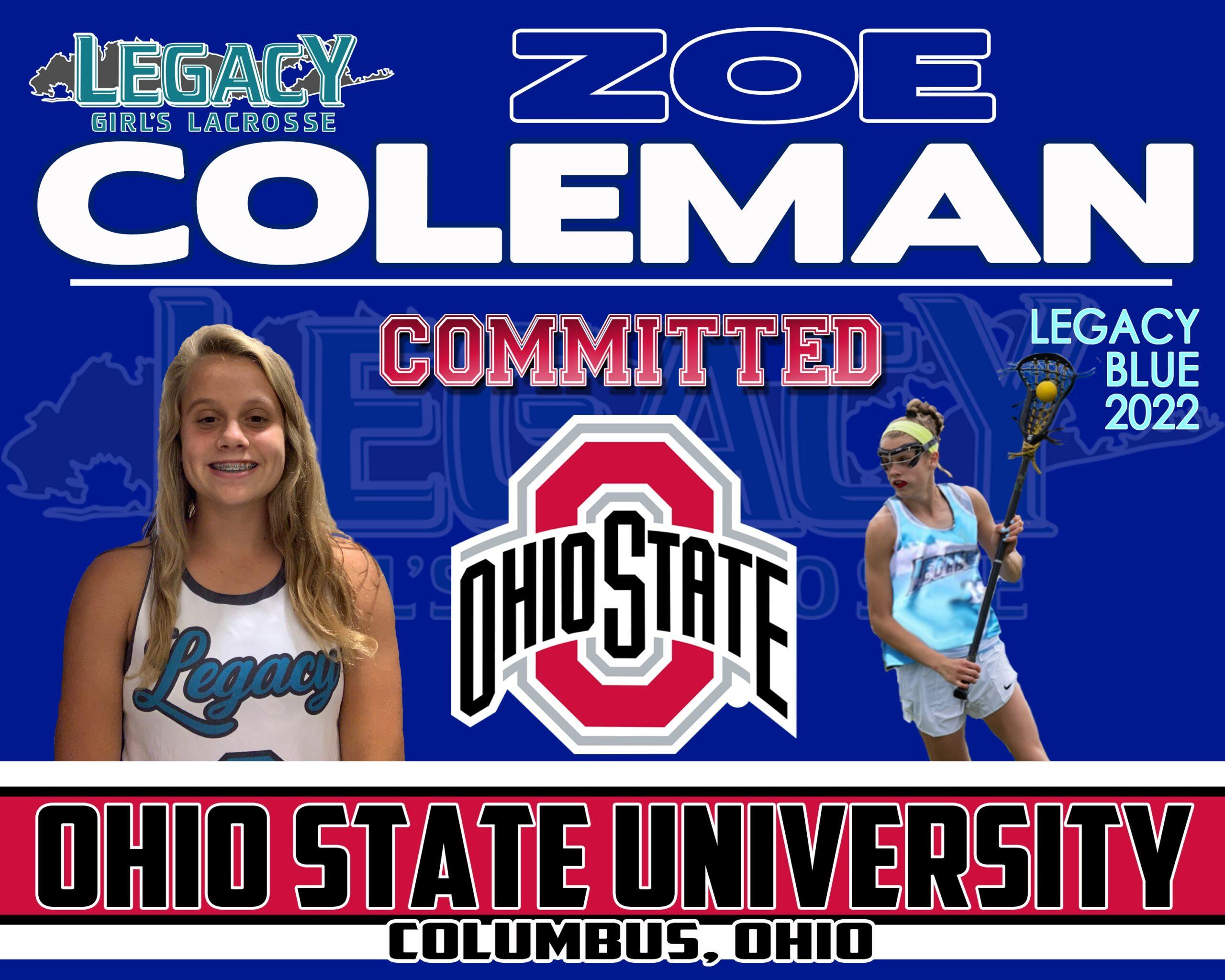 Coleman OSU 22 Blue