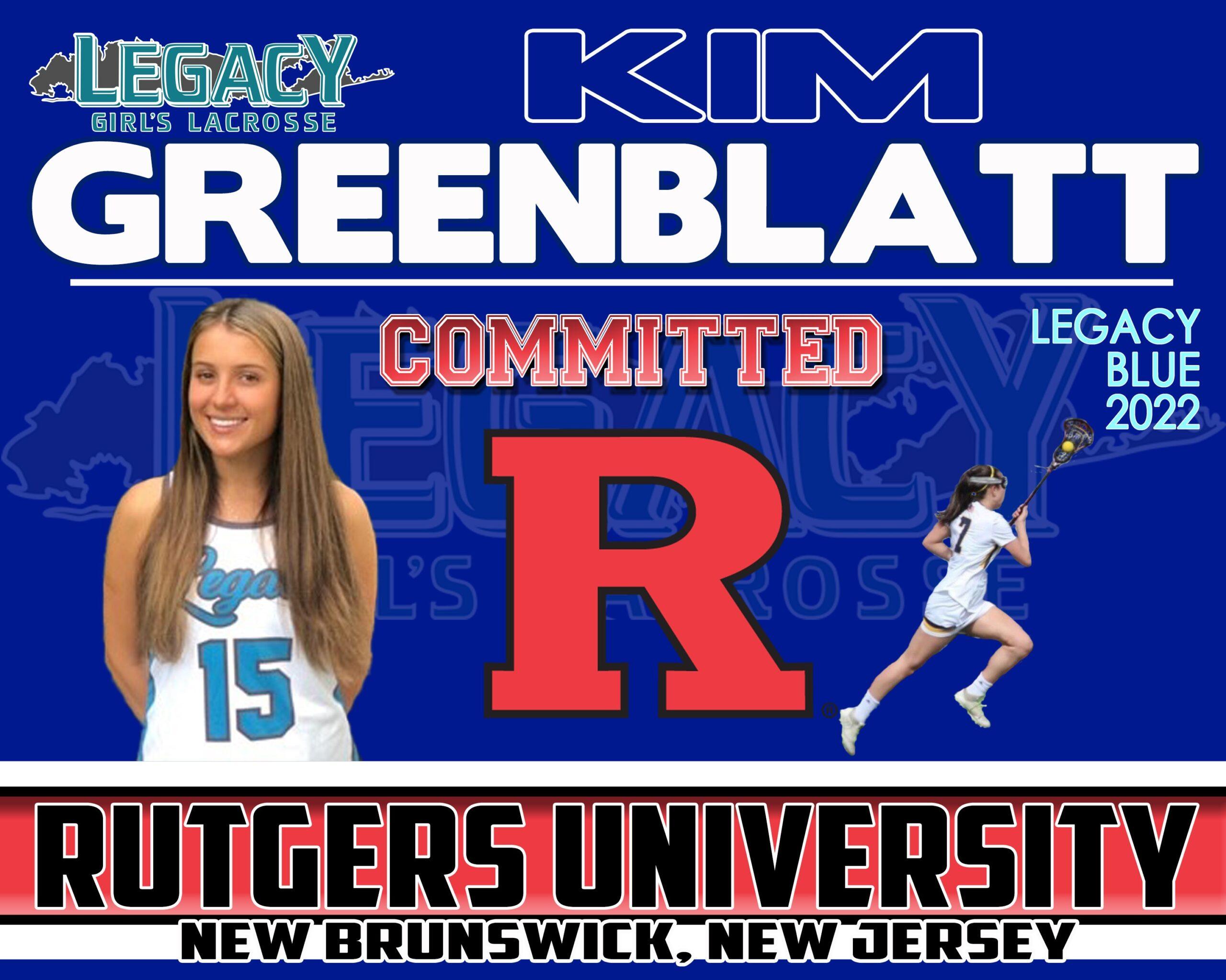 Greenblatt 2022 Blue Rutgers