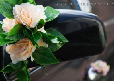 Limousine flower decoration