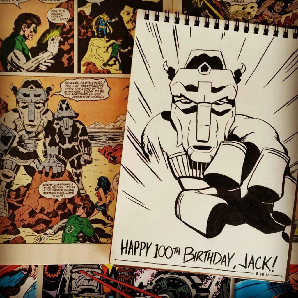 Happy 100th BDay Jack Kirby