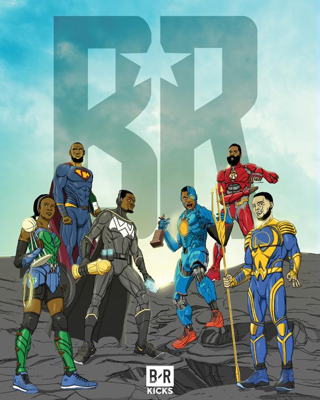 Bleacher Report Justice League Team