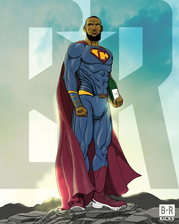 Bleacher Report Justice League: Super James