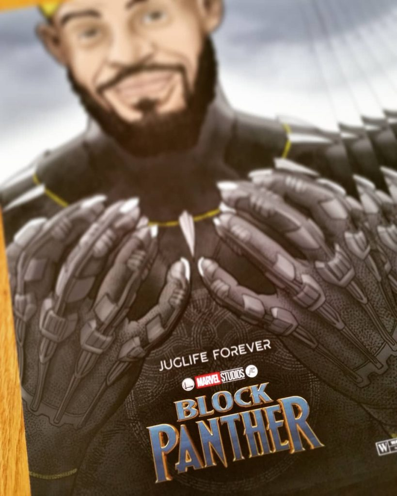 Block Panther Prints Teaser